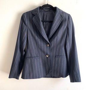 Theory Cora striped blazer